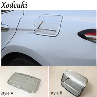 For Toyota Camry XV70 2018 2019 car body Styling Gas/Fuel/Oil tank Cover Cap stick lamp frame trim 1pcs