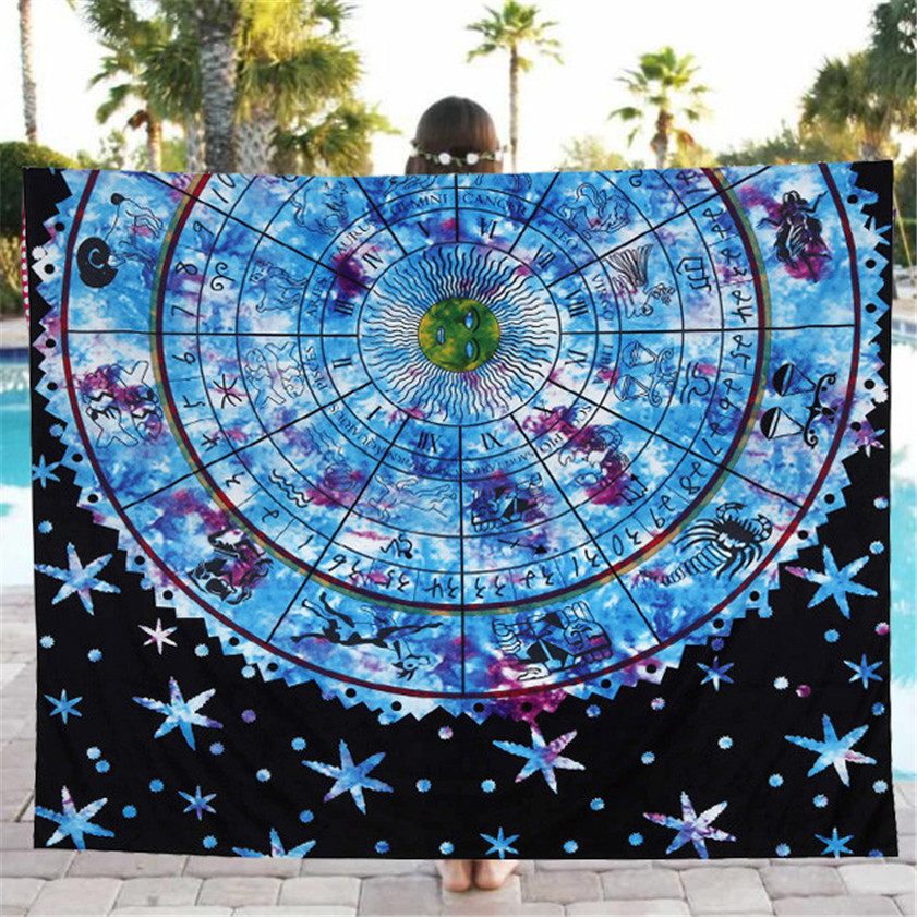 2018 drop shipping Useful Good Quality Beach Pool Home Shower Towel Blanket Table Cloth Yoga Mat