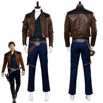 Solo: A Star Wars Story Han Solo Cosplay Costume Outfit Adult Men Halloween Carnival Costumes 1