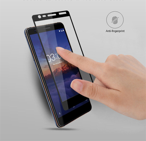 Image 2 - SFOR Nokia 3.1 temperado tampa de vidro completa Protetor de Tela Para Nokia 3.1 Vidro Cor Anti Explosão de protecção de vidro Para Nokia3.1
