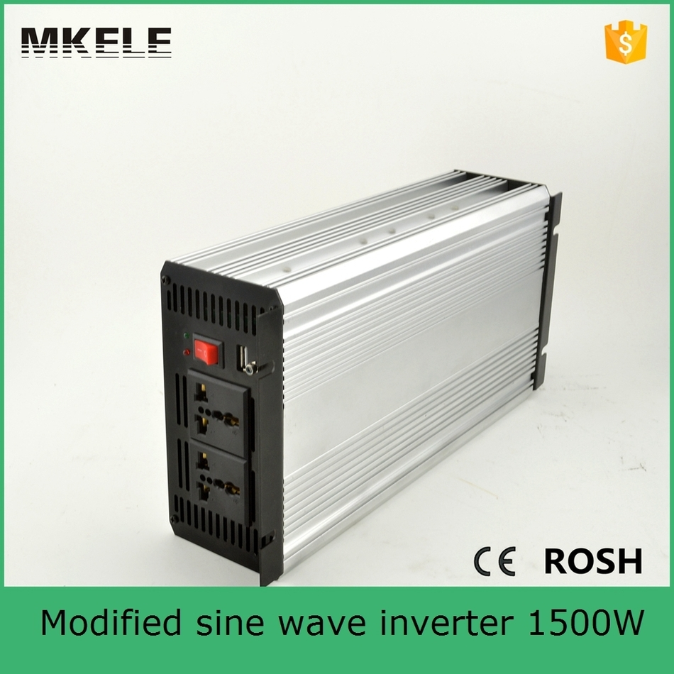 цена на MKM1500-241G modified sine wave high power inverter 110/120vac off-grid 1500 power inverter 24v power inverter manufacturers