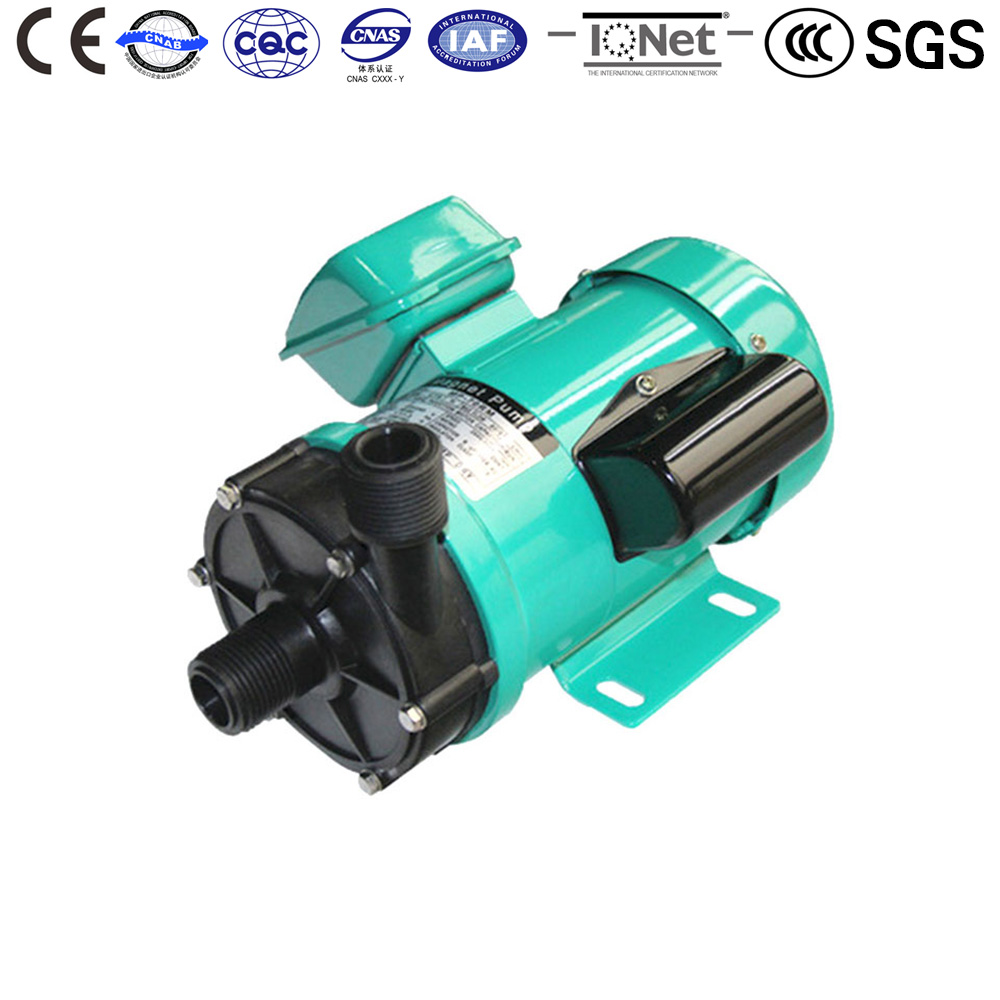 Centrifugal Water Pump MP-70R 50HZ 220V  Magnetic Drive Circulation CE Approved High capacity Corrosion resistance food grade high temperature resisting 140 degree beer magnetic drive pump