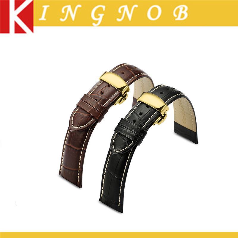 online get cheap seiko watch bands for men aliexpress com genuine leather watch strap 18mm 19mm 20mm 21mm 22
