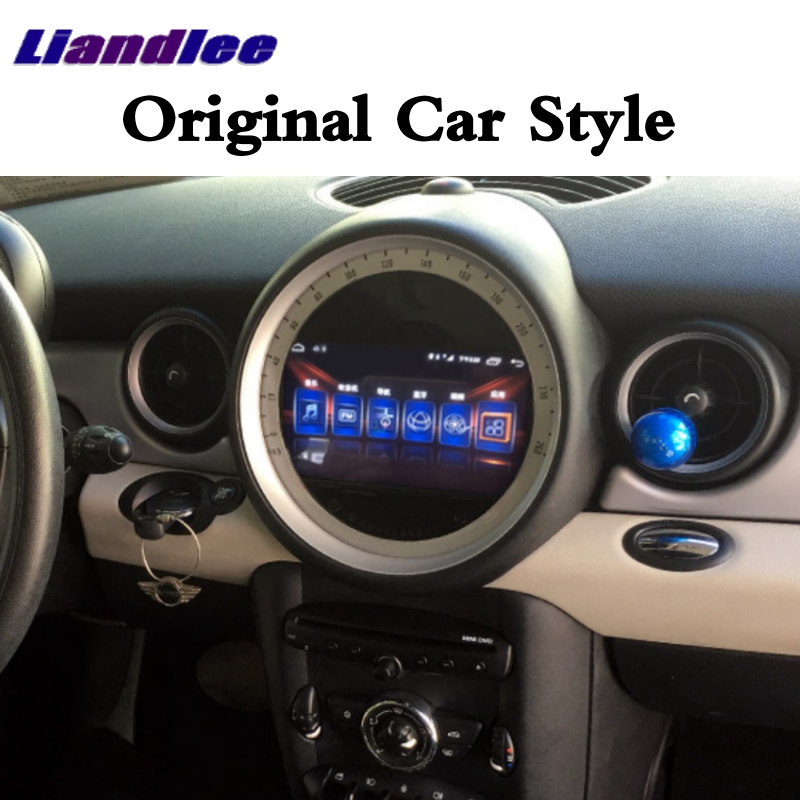 Flash Deal Liandlee Car Multimedia No DVD Player NAVI For Mini Clubman R55 2007~2014 Android system Car Radio Stereo GPS Map Navigation 3