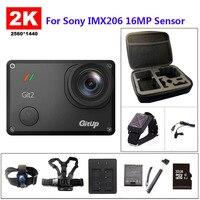 Free Shipping Gitup Git2 Novatek 96660 1080P WiFi 2K Sport Helemet Camera Extra 1pcs Battery Battery