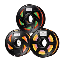 PLA Rainbow Color Filament for 3D Printer