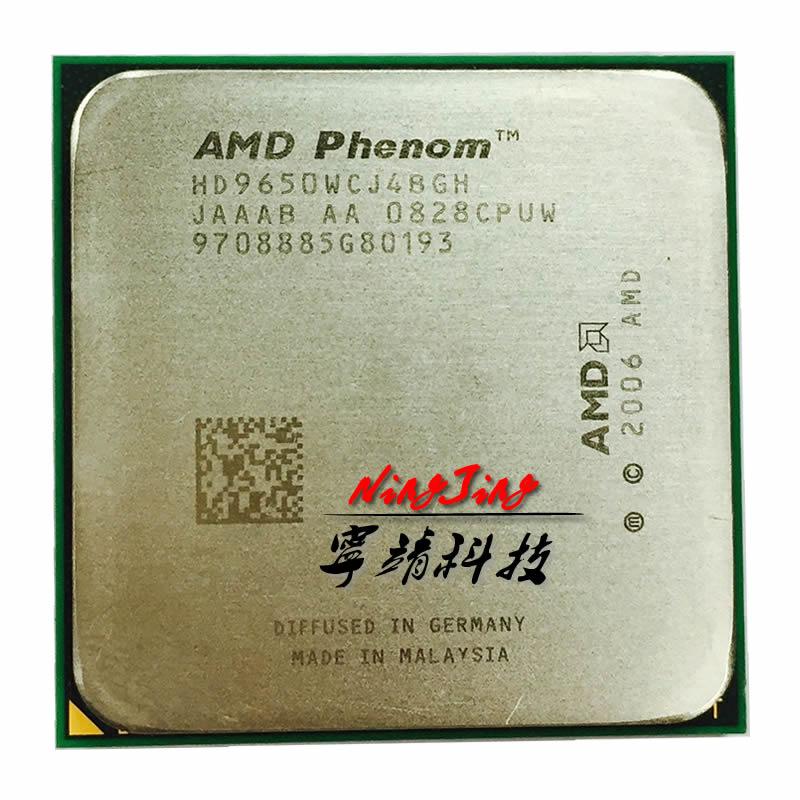 Четырехъядерный процессор AMD Phenom X4 9650 2,3 ГГц HD9650WCJ4BGH Разъем AM2 +