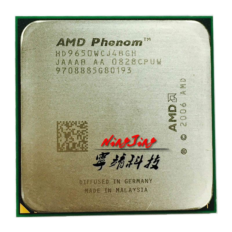 AMD Phenom x4 9650 2.3 ГГц quad-core Процессор процессор hd9650wcj4bgh Socket AM2 +