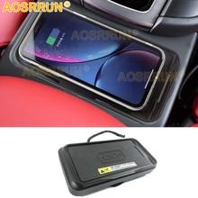 Auto Accessoires Voor Porsche Macan 2014 2015 2016 2018 2019 Qi Draadloos Opladen Telefoon Pad Module Opladen