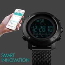 2019 SKMEI Bluetooth Smart Watch Men Fashion Sport Pedometer Remote Camera Calorie LED Digital Watches For Smartwatch