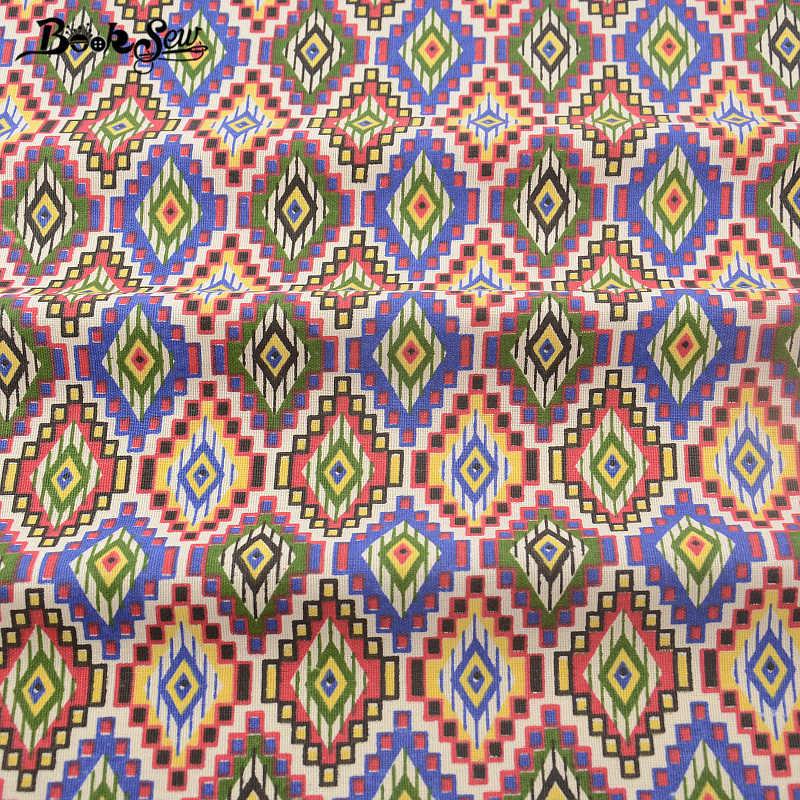 Booksew Africano Ankara tintura del Tessuto di Cotone di Tela Tessuto Tissu Per Tovaglia Cuscino Tenda Cuscino Zakka Telas Por Metro