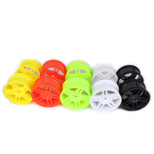 7 Spoke 14 Spoke Vijfpuntige Ster Velg w/o Band Band Voor Rc Auto 1/10 On Road racing Crawler Drift Auto HSP Himoto Redcat(China)