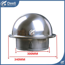 New good working Diameter 300mm 150mm 100mm pipe ventilator exhaust fan exhaustfan exhaust fan stainless steel outlet
