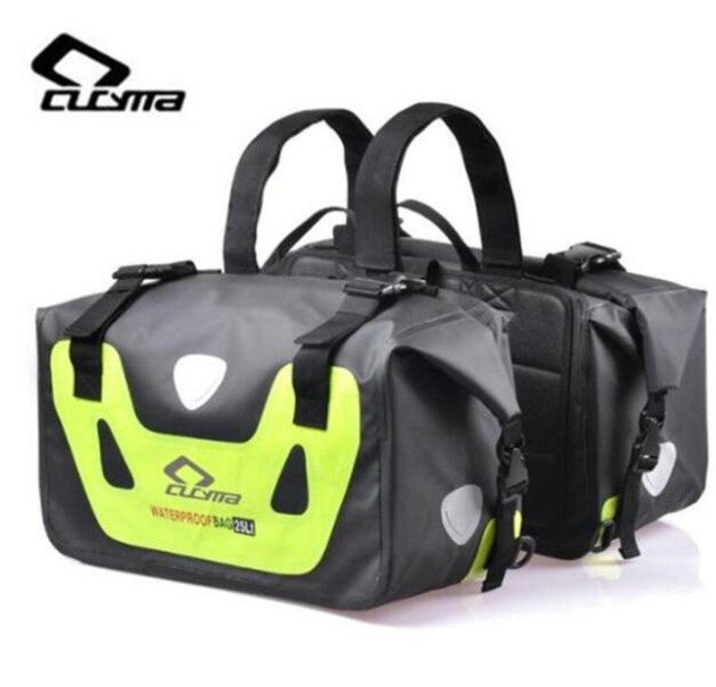 CUCYMA Motorcycles Bag 50L Motorcycle Waterproof Saddle Bags Moto Racing Travel Luggage Multi-Function Motorbike Saddlebags