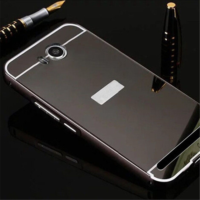 the best attitude 2eff5 c5bb1 US $2.91 |For Huawei Y3II Metal Aluminum Frame + Acrylic Mirror Back Cover  Case For Huawei Y3 II 2 Mobile Phone Back Cases on Aliexpress.com | Alibaba  ...