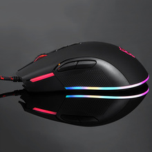 USB Wired Optical Mouse RGB LED Light 12000DPI PC Laptop Computer Gaming Mice XXM8