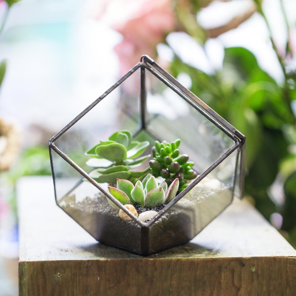 Փոքր DIY երկրաչափական խորանարդի ապակե - Այգու պարագաներ - Լուսանկար 4