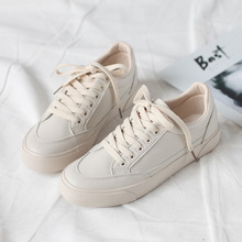 hot deal buy 2018 new fashion shoes woman flats casual sport breathable pu leather autumn shoes platform women casual shoes sneakers