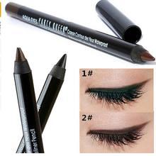 Festa rainha marca nova eye liner lápis maquiagem longa duração à prova dwaterproof água preto marrom cor lápis delineador