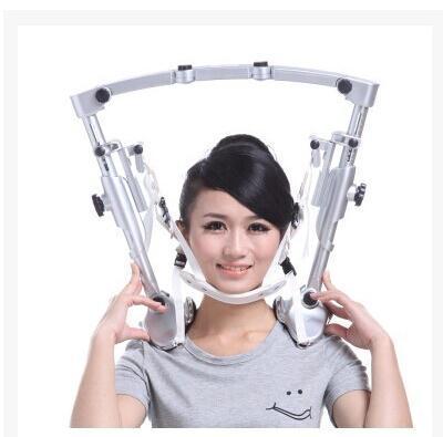 Física aparelho de tração cervical colar cervical inflável que se estende do agregado familiar fixo rack de enforcamento no pescoço espondilose cervical