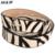 2017 Crin Decorativa de Europa Y América Delgado Cinturón Ceinture Femme Mujer Zebra Patrón de piel de Vaca de Lujo Al Por Mayor