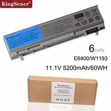KingSener ячеечная новая W1193 Батарея для DELL Latitude E6400 E6410 E6500 E6510 M4400 M6400 PT434 PT436 PT437 KY265 KY266 KY268