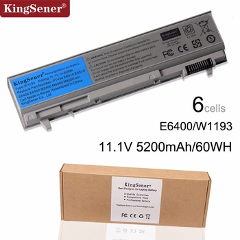 KingSener Korea Cell ใหม่ W1193 Battery สำหรับ DELL Latitude E6400 E6410  E6500 E6510 M4400 M6400 PT434 PT436 PT437 KY265 KY266