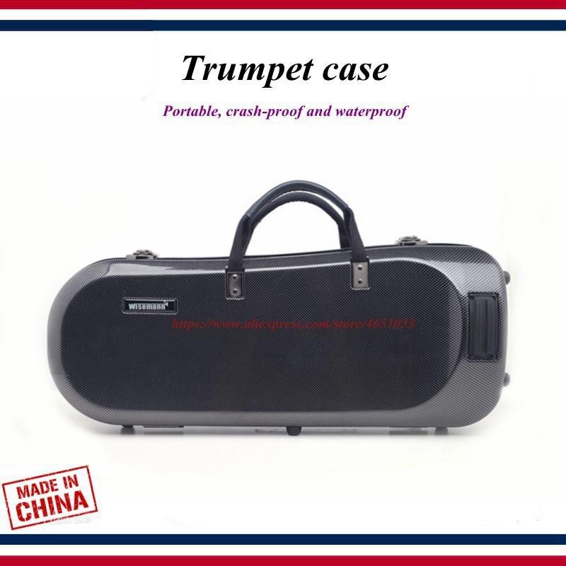 Trumpet Accessories - Trumpet Case - Light Body Trumpet  Box Bag , Portable, Crash-proof And Waterproof- Trumpet Parts