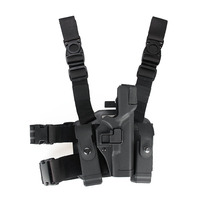 PPT Hot Sale Tactical Military G17 Gun Holster Leg Thigh Lock Pistol Holster For Hunting Shooting OS7 0097