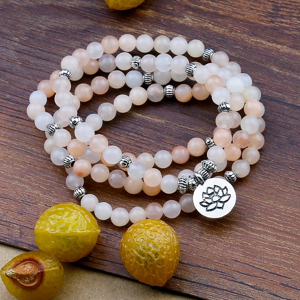 Pink Aventurine Mala Beads (6mm) 1