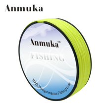 Anmuka Fishing Line Multifilament 100M Super Strong PE Braided Fishing Line 4 Strands Linha De Pesca Fishing Tackle Fishing Tool