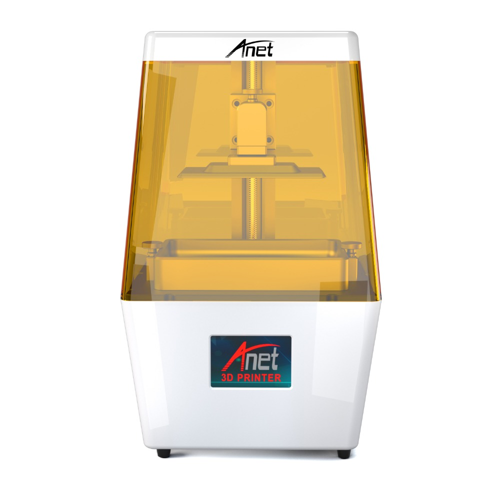 Anet N4 mini 3d printer Kit Touch LCD Screen Slicer Light-Curing Impresora 3d Plus Size Desktop 3d Printer UV Resin 3D Drucker