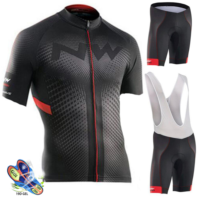 Northwave Nw été cyclisme Jersey ensemble respirant vtt vélo cyclisme vêtements VTT porter des vêtements Maillot Ropa Ciclismo