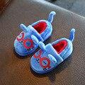 Дети тапочки мальчики девочки тапочки милый мультфильм для детей главная обувь дети теплый хлопок девушки тапочки зимние мальчики теплые тапочки