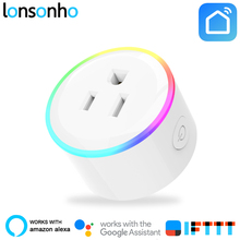 LonSonHo Smart Plug Wifi Smart Socket US Plug Outlet 10A Works with Google Home Mini Alexa IFTTT Smart Life APP