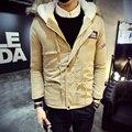 2016 Новая Мода мужская пальто осень и зима теплая куртка пальто