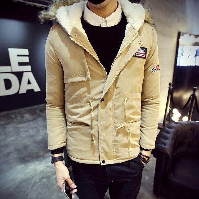 2016 Novo do homem da Moda casaco de outono e inverno quente casaco jaqueta