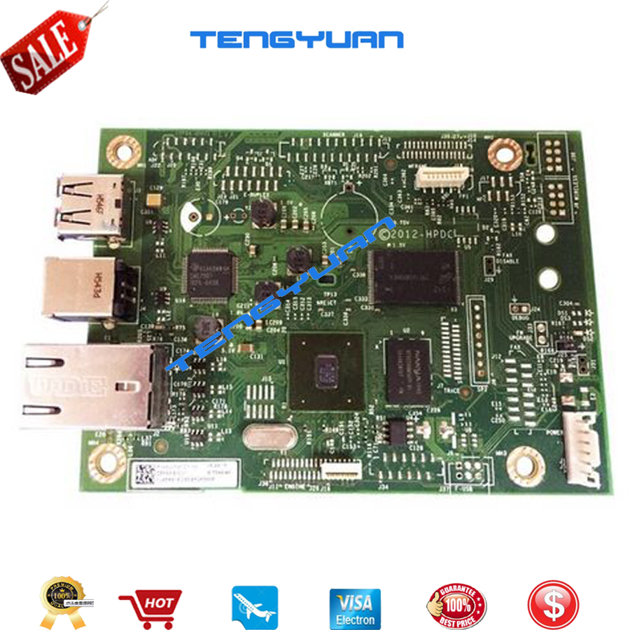 Tested 90% new Formatter board for HP LJ Pro M402N M402DN m403N M403DN C5F93-60001 network printer parts on sale