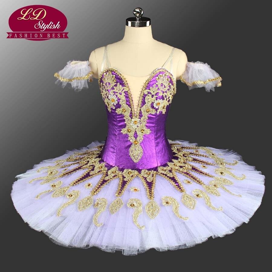 Jaune adulte professionnel Ballet Tutu Costumes la Remonda scène Performance compétition Ballet robe filles rose Ballet jupe
