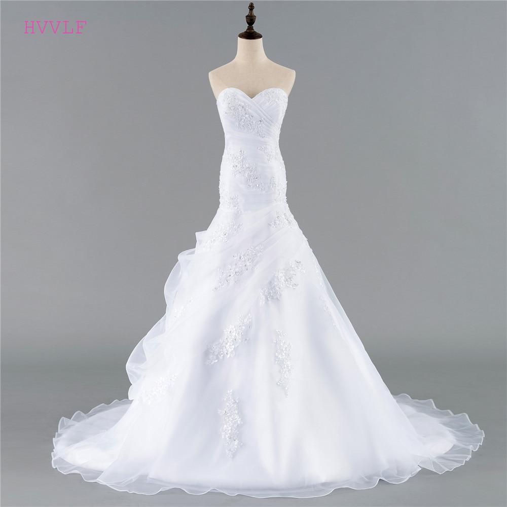 Cheap Vestido De Noiva 2019 Wedding Dresses Mermaid