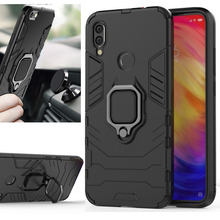 Case for Xiaomi Redmi Note 7 7A Silicone Armor Bumper Shockproof Cover Phone Luxury Xiomi Note7 Pro