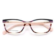 Hand made Acetate Glasses Frame Women Butterfly Cat Eye Eyeglass Female Myopia Optical Top Quality sqB002