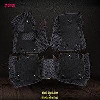 Custom car floor mats for toyota rav4 toyota camry toyota corolla auris prius fortuner yaris land cruiser Car accessories