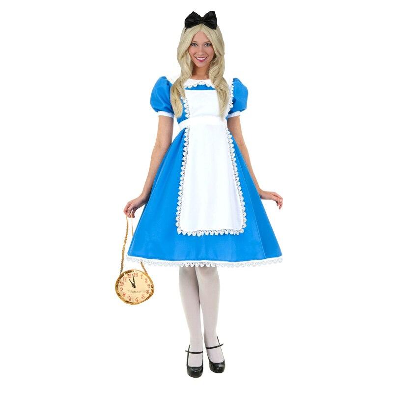 Adult Women's Superme Alice Wonderland Halloween Costumes