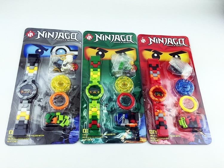 NINJAGOE mini Bricks Super hero ninjago mini Original box Watch Bricks Compatible lepin Toys for children gift