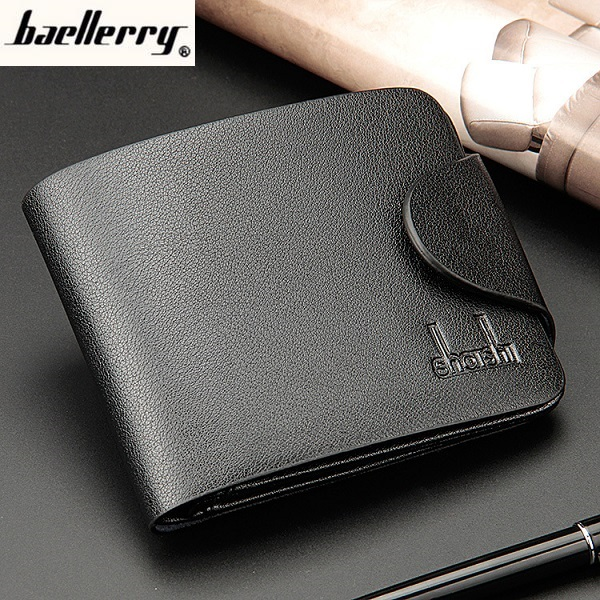 Baellerry 2017 Hot Sale Business Men's Leather Wallet Casual Leisure Concise Purses Men's Purse Card holder Short Style D003 frank buytendijk dealing with dilemmas where business analytics fall short