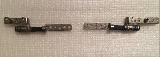 Original lcd led dobradiças para samsung np530u4b np530u4c 530u4b 530u4c series dobradiça esquerda + direita