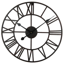 Vintage 76 cm 50cm Large Wall Clock Wrought Metal Industrial Iron Clock Watch Saat Classic Digital Clocks Relogio de Parede Klok