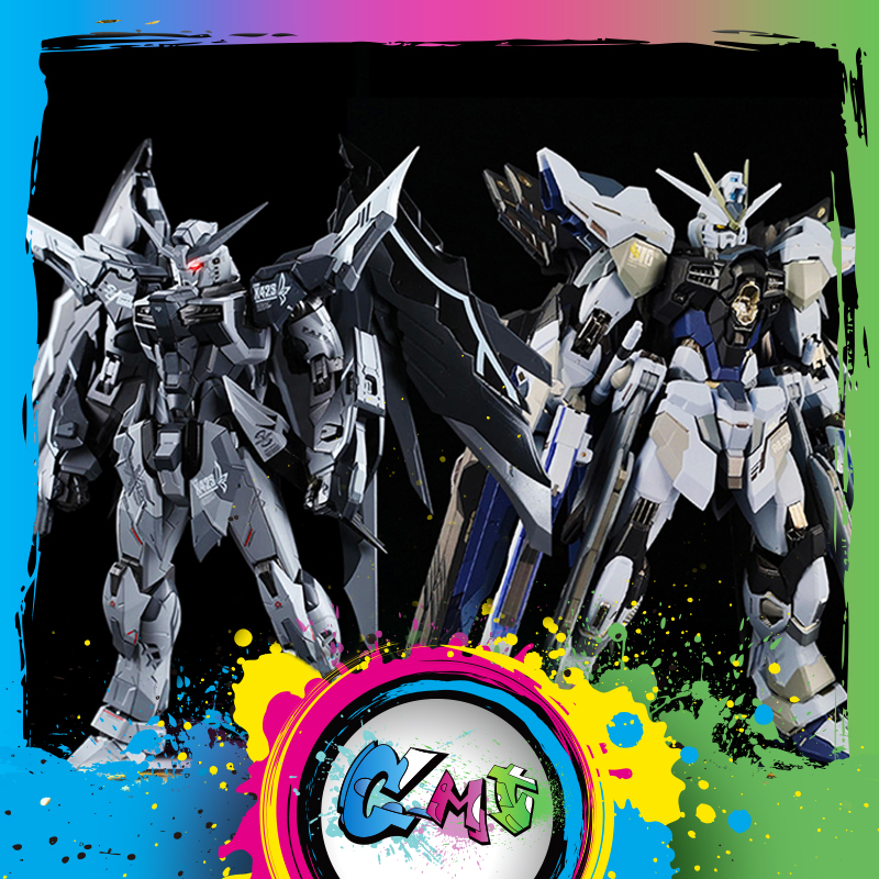 CMT Instock Metal Gear MC Muscle Bear Models Destiny And Strike Freedom MB Metal Build Inactivated Version Anime Toys Figure