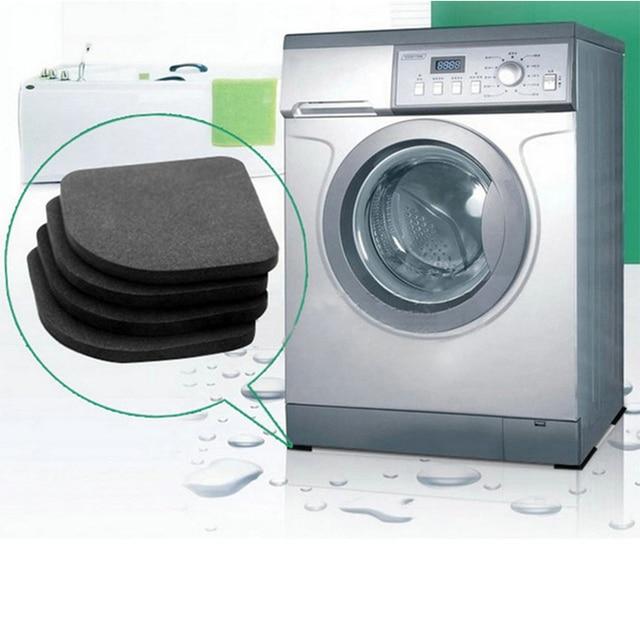 4 PCS Pack Washing Machine Refrigerator Shockproof Pad Household Electric Appliances Sponge Non-slip Mat Bathroom Accessories